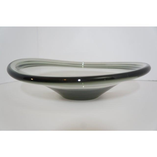Holmegaard Per Lutken for Holmegaard Mid-Century Modern Selandia Bowl For Sale - Image 4 of 4