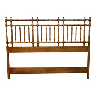1960s Bamboo Queen/Full Size Headboard For Sale
