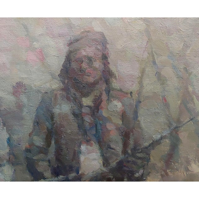Stevan Kissel - Group of Apache Renegades - Oil Painting For Sale - Image 4 of 8