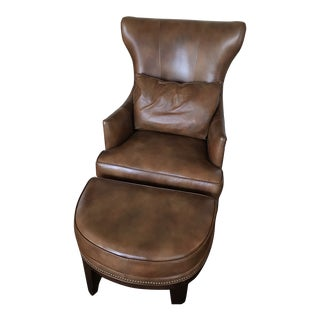 Bradington Young Aurora Chair & Ottoman For Sale