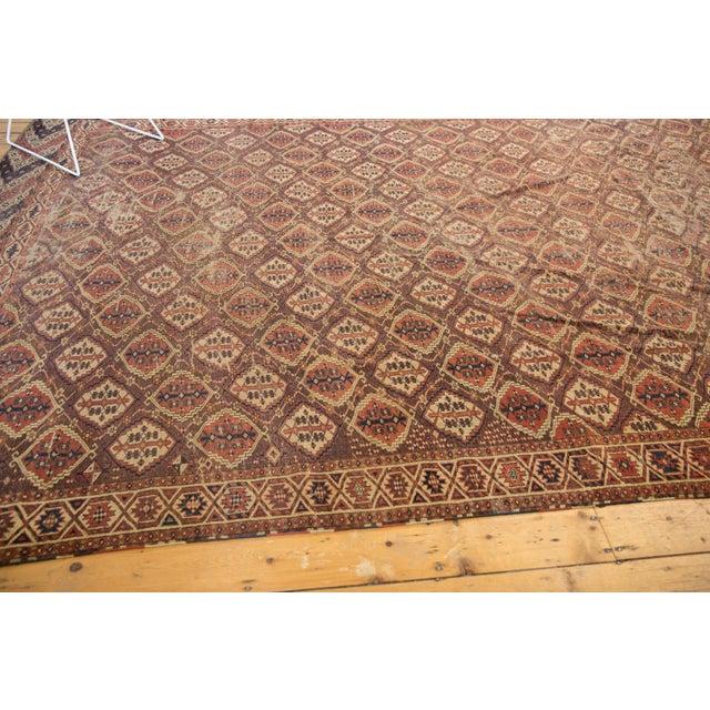 "Antique Beshir Carpet - 8'9"" X 14' For Sale - Image 9 of 13"