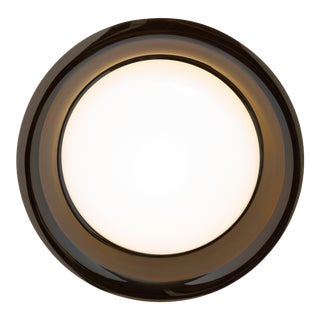 Round 1980s Wall-Mounted Lamp by Aquarius Mirrorworks For Sale