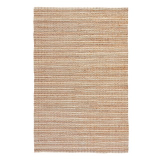 Jaipur Living Cornwall Natural Striped Beige/ Blue Area Rug - 2′6″ × 4′ For Sale