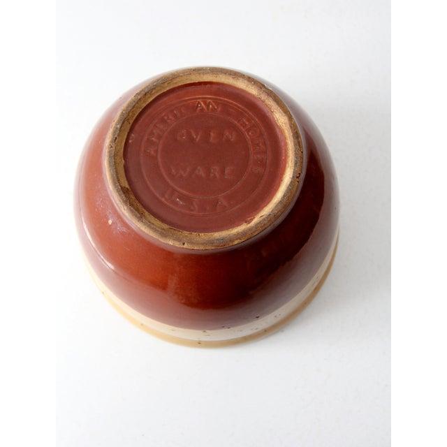 Vintage Watt Pottery Yellow Ware Bowl - Image 4 of 7