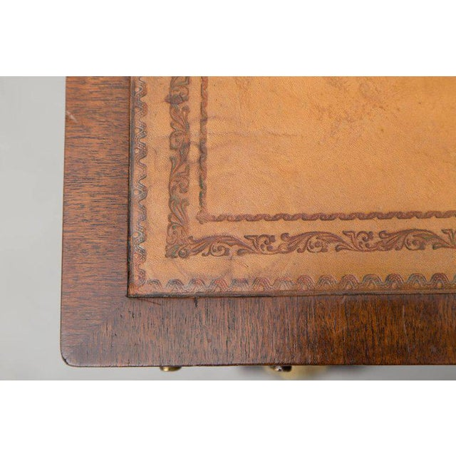 19th Century Mahogany Knee Hole Desk For Sale In West Palm - Image 6 of 8