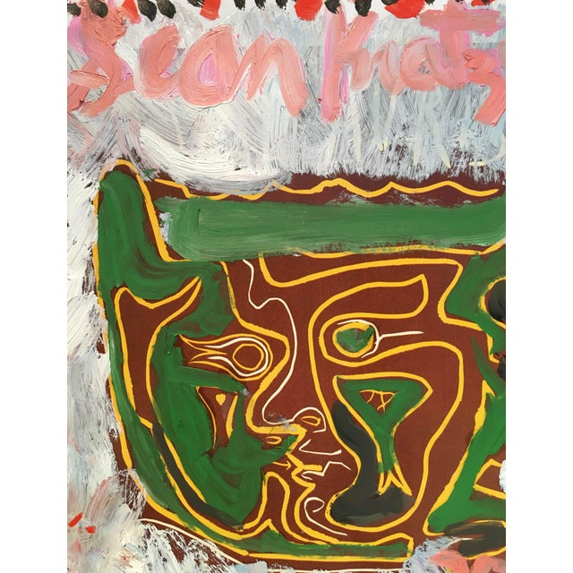 An interesting piece by emerging artist Sean Kratzert. It is inspired by a 1982 work by Jean-Michel Basquiat where he...