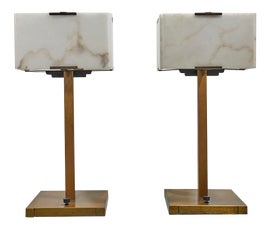 Image of Alabaster Table Lamps
