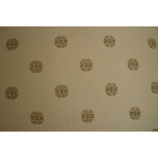 Postmodern Custom Upholstered Pair Mushroom Pouf Ottomans After Karl Springer For Sale - Image 9 of 13