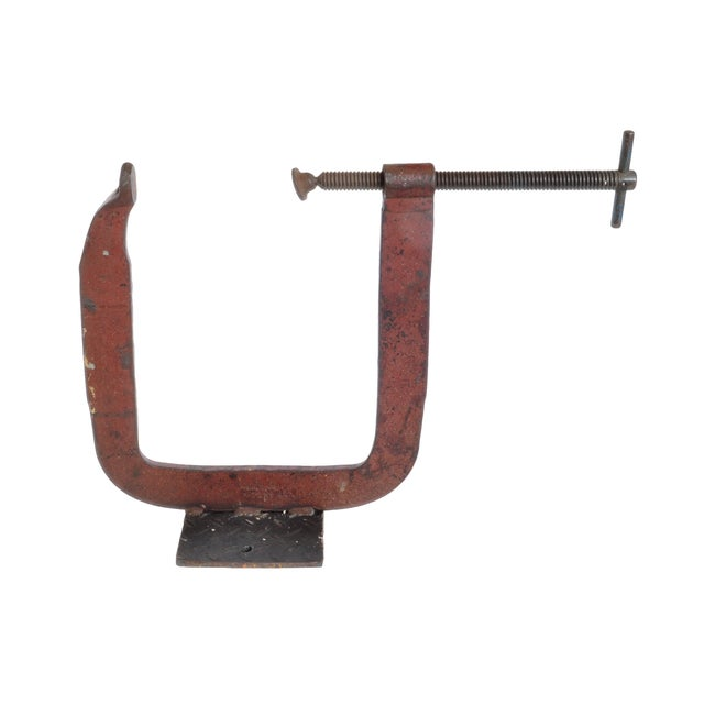 Vintage Industrial Clamp For Sale