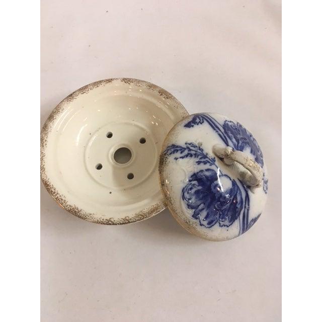Blue Ironstone Soap Dish - Image 6 of 7