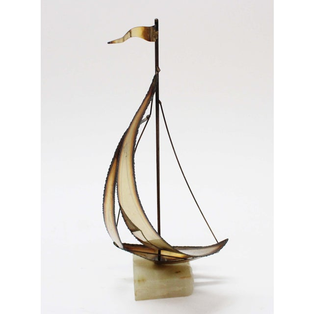 John Perry Brass Boats - Set of 3 For Sale - Image 5 of 9