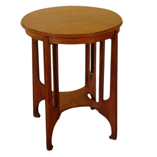 Secessionist Period Side Table For Sale
