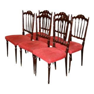 Italian Chiavarine Chairs For Sale