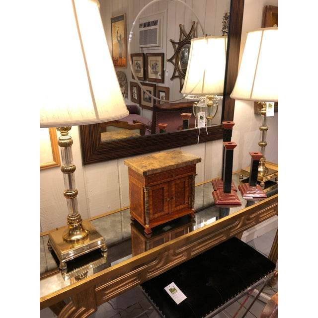 Vintage Neoclassical Credenza Tabletop Treasure Box For Sale - Image 10 of 12