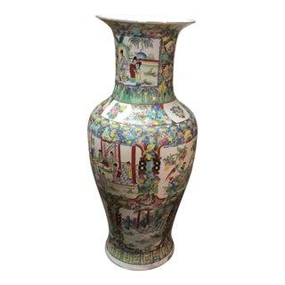 Famillie Rose Extra-Large Vase For Sale