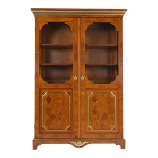 Antique Louis XVI Two Door Bookcase For Sale