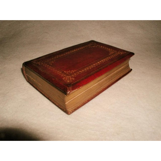 """""""Scott's Poetical Works"""" Illustrated Leather Bound - Image 2 of 8"""