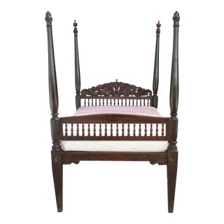 Imperial Antique Anglo Indian Bed For Sale