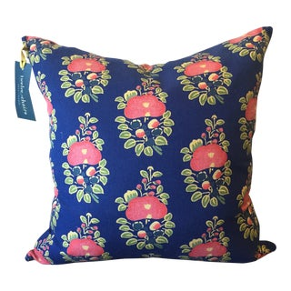 Tulu Textiles Alma Blue Pillow Cover For Sale