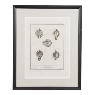 18th Century Italian Etchings of Antiquities For Sale