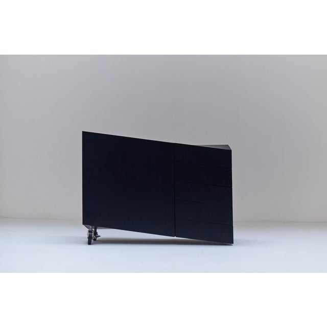 "1982 ""Wil Toro"" Cabinet by Mireille Rivier & Paolo Pallucco For Sale - Image 6 of 13"