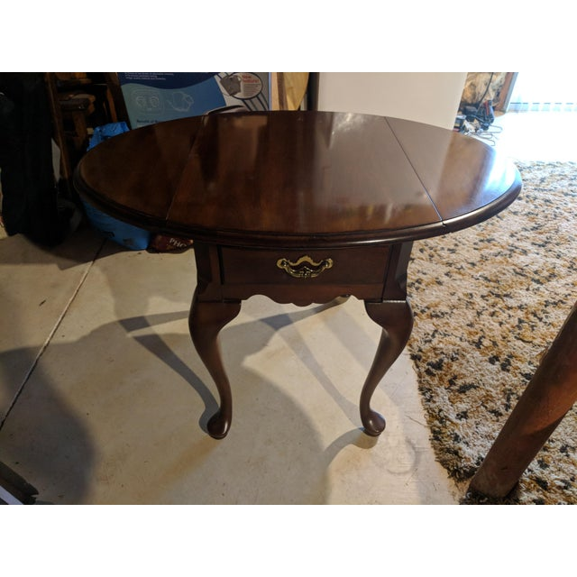 Queen Anne Style Side Table For Sale In Washington DC - Image 6 of 6