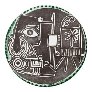Jacqueline au Chevalet, 1978 Offset Litho on Matte Finish Paper, Pablo Picasso For Sale