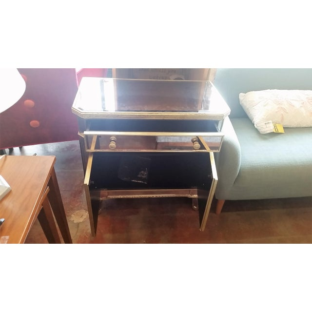 Borghese Mirrored Nightstand - Image 4 of 5