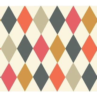 Cole & Son Punchinello Wallpaper Roll - Multi-Colour For Sale