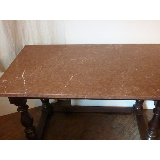 Baroque Baroque Style Oak Table For Sale - Image 3 of 6