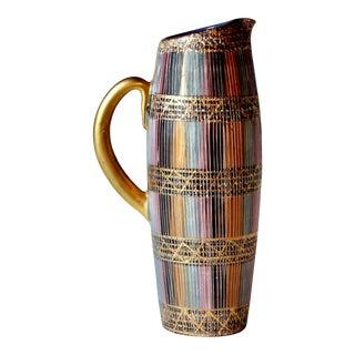 Mid Century Bitossi Raymor Seta Italian Pottery Londi Pitcher For Sale