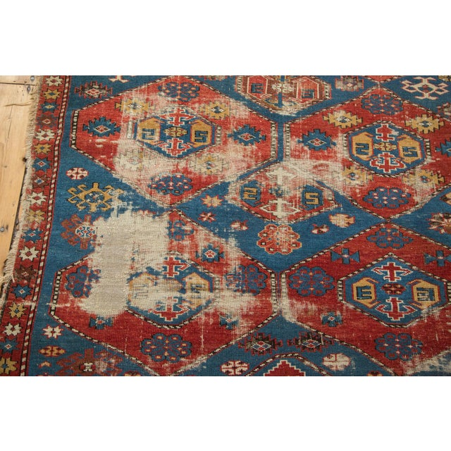 "Antique Shirvan Rug - 4'4"" x 7'8"" For Sale - Image 4 of 11"