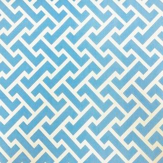 Boho Chic Quadrille Aga Sunbrella Designer Fabric by the Yard For Sale