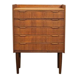 Original Danish Mid Century End Table / Dresser - Ost For Sale