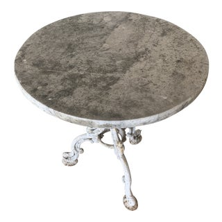 19th Century French Bistro Table For Sale