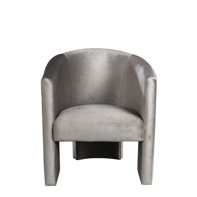 Leblon Upholstered Dining Chair For Sale - Image 4 of 4