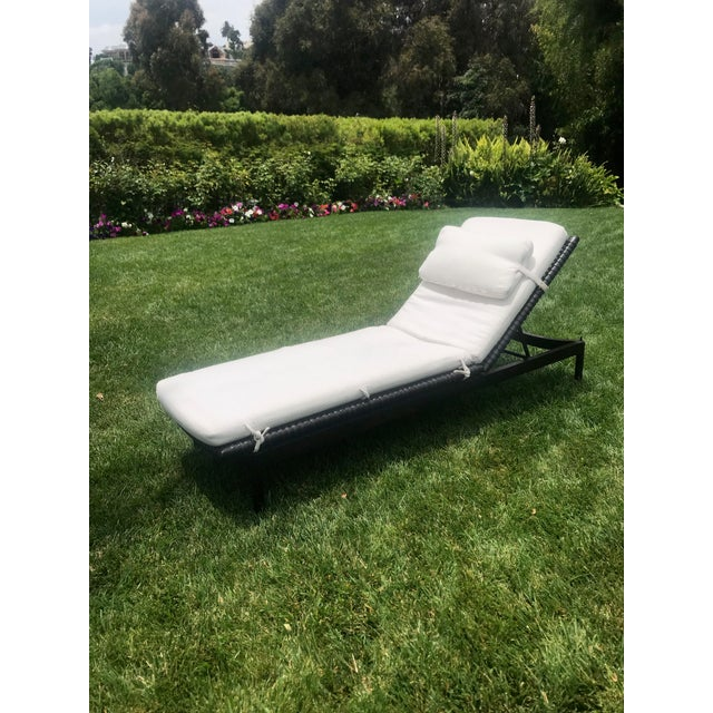 McGuire McGuire Antalya Chaise Lounges-a Pair For Sale - Image 4 of 13