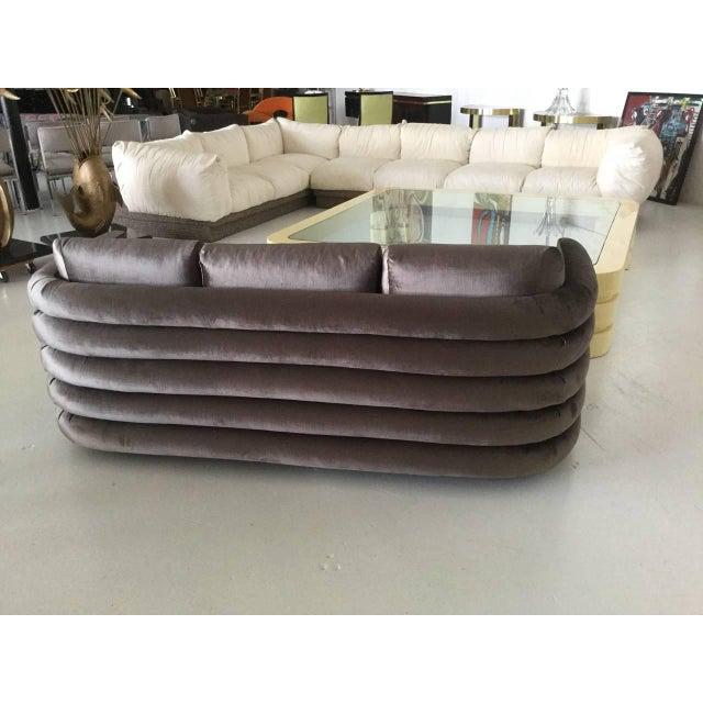 Milo Baughman Custom Sofa - Image 4 of 5