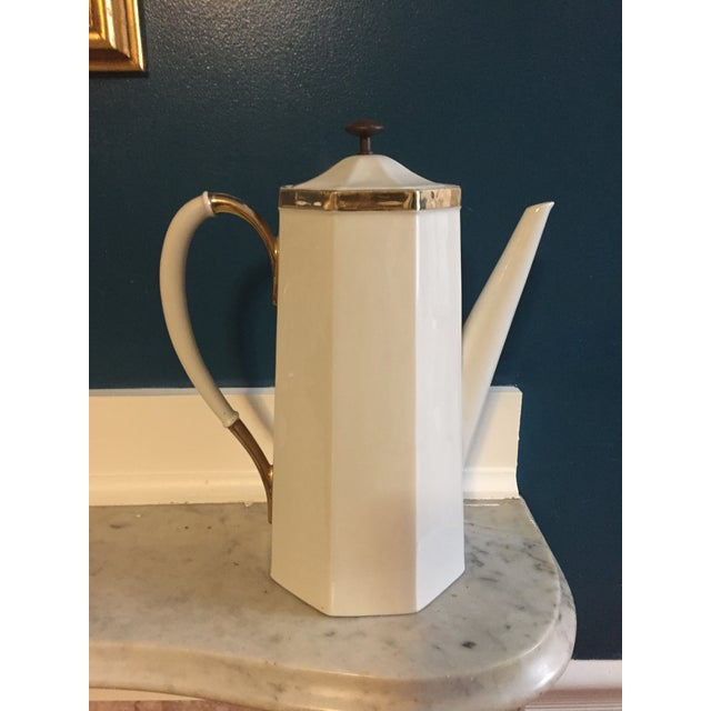 Mid-Century Modern Mid-Century Coffee Pot For Sale - Image 3 of 5