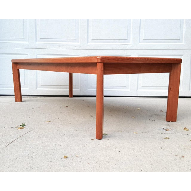 Vejle Stole Denmark Danish Modern Teak Coffee Table - Image 4 of 8