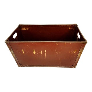 Industrial Brown Factory Bin Container For Sale