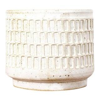 Christian Boehr Danish Modern Ceramic Stoneware Planter For Sale