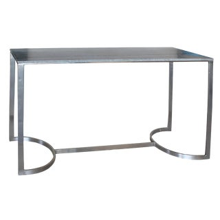 Grey Marble Console Table