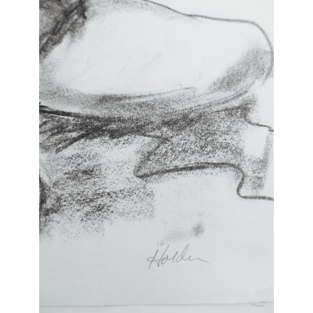 'Beverly' Drawing by Martha Holden - Image 4 of 4