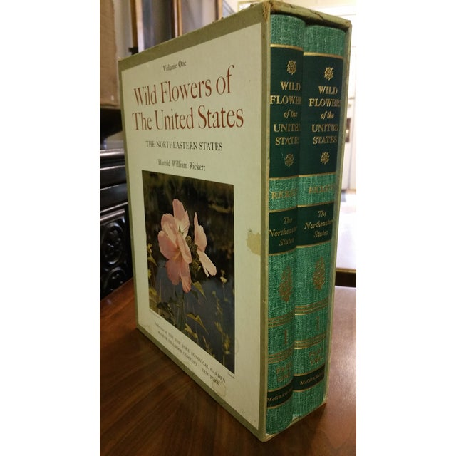 Paper Wild Flowers of the United States Hardcover Two Volume Set For Sale - Image 7 of 7