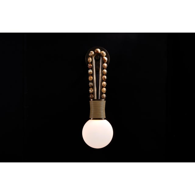 Apparatus Talisman Loop Sconce For Sale - Image 4 of 13