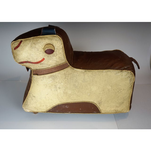 Art Deco Dog Footstool Hassock by Relaxon For Sale In New York - Image 6 of 8