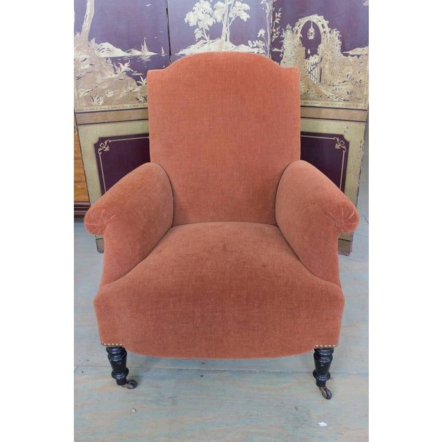 Natural Fiber 1920s Napoleon III Armchair For Sale - Image 7 of 11