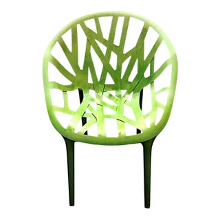 Bouroullec for Vitra Green Vegetal Chair For Sale