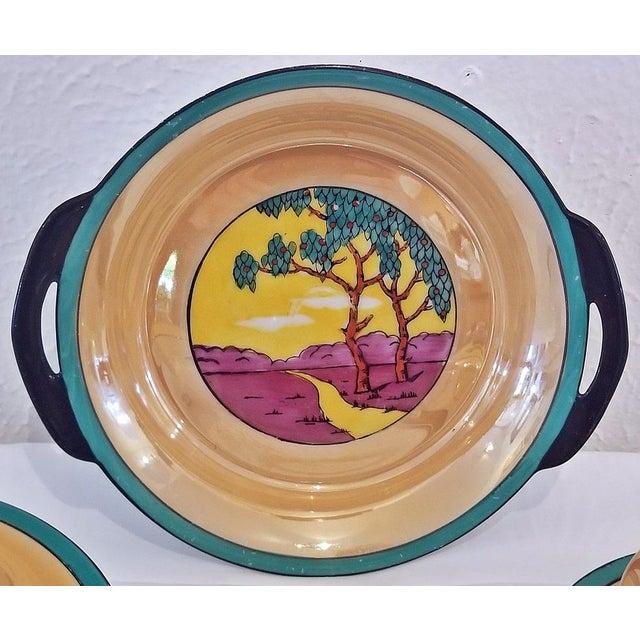 Noritake Vintage Noritake Deco 4 Piece Set For Sale - Image 4 of 13